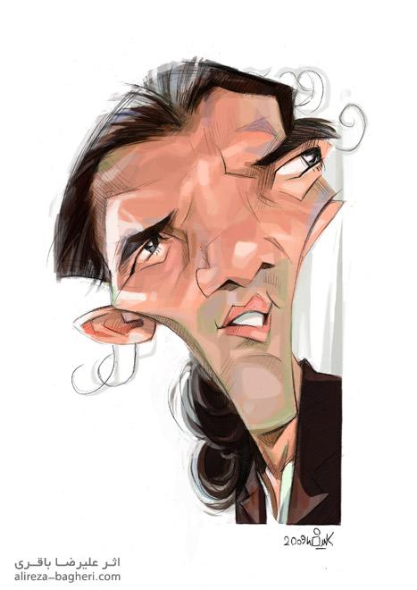 کاریکاتور آنتینیو باندراس