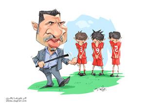 کاریکاتور علی دایی