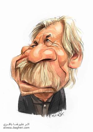 کاریکاتور داوود رشیدی