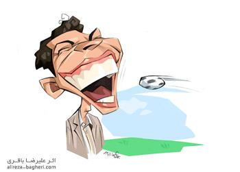 کاریکاتور عادل فردوسی پور